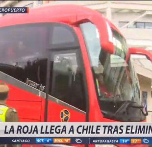 [VIDEO] El triste regreso de La Roja a Chile tras quedarse fuera de Rusia 2018