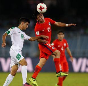 Nuevo tropiezo: Chile cae goleado ante Irak y arriesga su futuro en el Mundial Sub 17