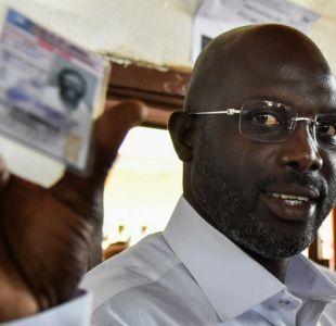 George Weah, el ex crack del Milan que puede ser presidente de Liberia