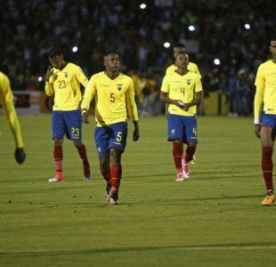 Castigo ejemplar: Ecuador suspende indefinidamente a cinco figuras por indisciplina