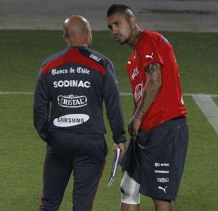 """Sampaoli sobre Vidal: """"Sigo considerándolo el mejor volante mixto del fútbol actual"""""""