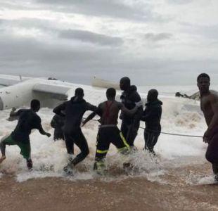 Costa de Marfil: mueren cuatro personas al estrellarse avión de carga cuando intentaba aterrizar