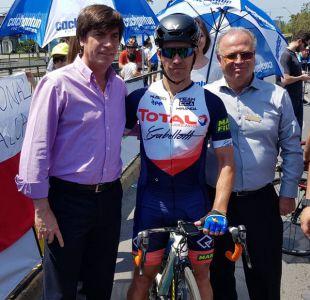 Chileno Gonzalo Miranda gana última etapa y colombiano César Paredes se queda con la Vuelta a Chile