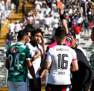 Los descargos de Jorge Valdivia tras su expulsión en duelo frente a Santiago Wanderers