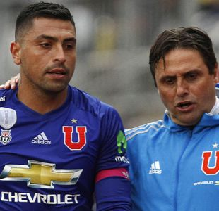 Jara queda descartado en la U para semifinal ante Antofagasta por Copa Chile