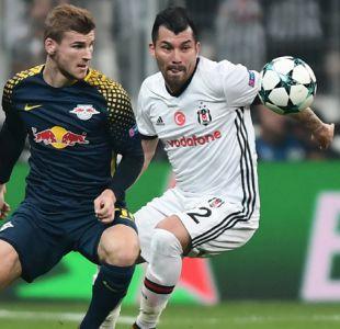 [Minuto a Minuto] Besiktas con Gary Medel venció al RB Leipzig por la Champions