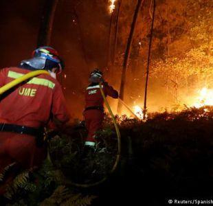 Aumenta el número de muertos en incendios de Portugal