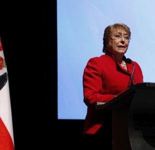 "Bachelet: ""Puedo continuar pese a la crítica de frenesí legislativo"""