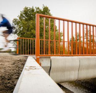 Holanda inaugura el primer puente del mundo construido con una impresora 3D
