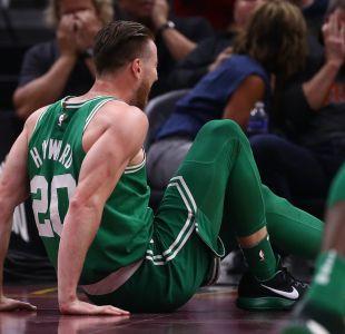 La escalofriante lesión de Gordon Hayward en su primer partido para los Boston Celtics