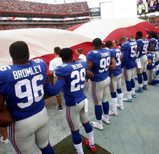 Trump reprocha a NFL que no obligue a jugadores a ponerse de pie durante el himno