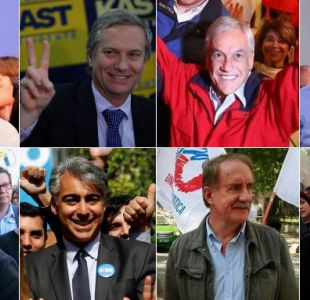 Candidatos presidenciales cierran sus campañas en último día de propaganda