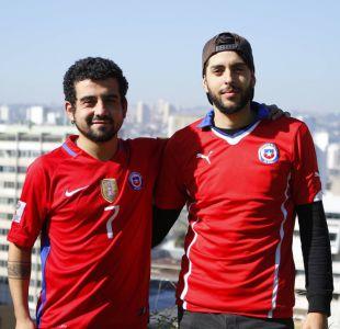 Los chilenos que caminan hacia Rusia para ver el Mundial 2018 y la eliminación los pilló en viaje