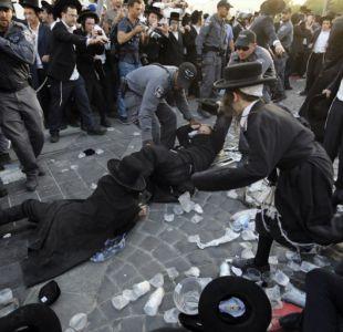 Judíos ultraortodoxos protestan en Jerusalén contra el servicio militar obligatorio