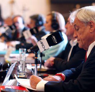 """Piñera por Longueira: """"Si es declarado culpable voy a ser el primero en condenarlo"""""""