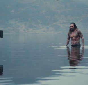 """La espectacular primera imagen bajo el agua de Jason Momoa como """"Aquaman"""""""