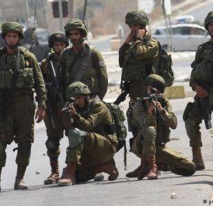 Aviones del ejército israelí bombardean posiciones de Hamas en Gaza