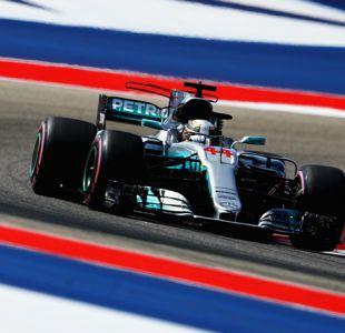 Fórmula 1: Lewis Hamilton largará desde la pole en el GP de Estados Unidos