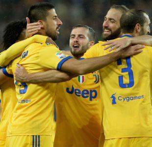 Juventus y Lazio golean para acercarse al líder Napoli en la Serie A de Italia