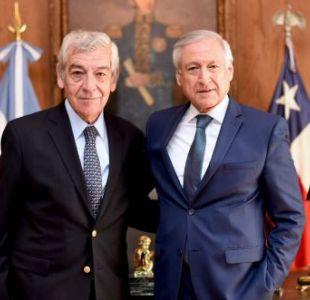 Canciller visitó a embajador de Argentina en Chile tras ataque a residencia