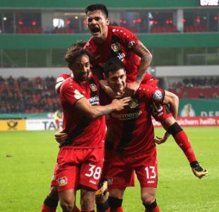 Aránguiz anota golazo en goleada de Bayer Leverkusen por la Copa de Alemania