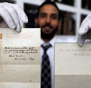 La teoría de la felicidad que Einstein escribió en hojas sueltas, fue vendida en US$ 1,5 millones