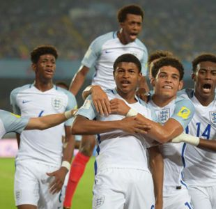 Inglaterra vence a Brasil y es el primer finalista del Mundial Sub 17 de India
