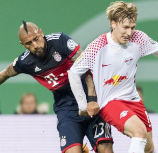 Arturo Vidal juega en sufrido triunfo por penales del Bayern en Copa de Alemania