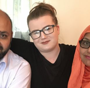 Son mi madre y mi padre, no terroristas