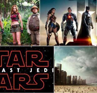 De Star Wars a Coco: Revisa los estrenos que llegarán a las salas de cine este fin de año