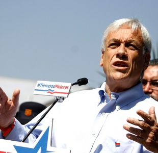 """Piñera responde a Narváez: """"Los chilenos notan cuando un gobierno quiere favorecer a un candidato"""""""