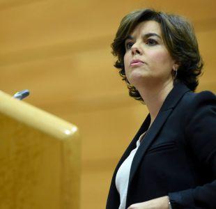 España empieza a tomar control del gobierno catalán