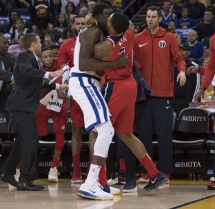 [VIDEO] La violenta pelea en duelo entre Wizards y Warriors en la NBA
