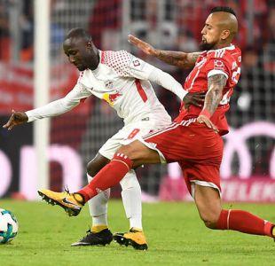 Arturo Vidal actúa en victoria de Bayern Munich por la Bundesliga