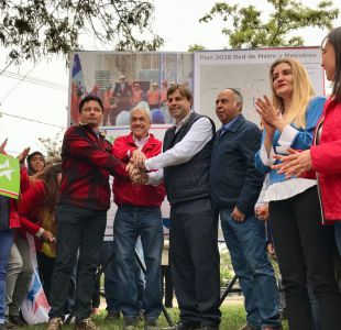 Piñera propone fin del Transantiago y nueva línea 10 del Metro