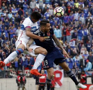 [FOTOS] Las mejores imágenes del clásico universitario 185 del fútbol chileno
