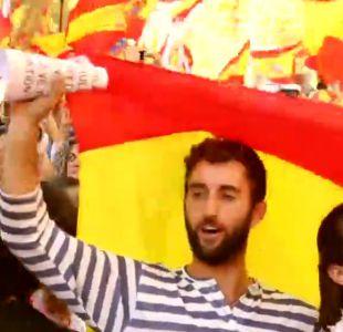 [VIDEO] Marcha por la unidad en Barcelona