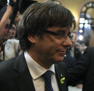 El presidente catalán destituido, Puigdemont, está en Bruselas