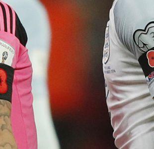 Federaciones británicas pedirán a la FIFA autorización para lucir la amapola