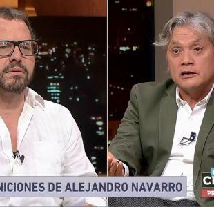 Navarro: Pensar que los parlamentarios puedan representar a la soberanía popular es un error