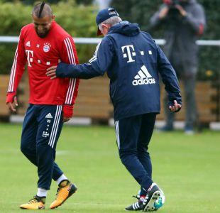 """El """"regaño"""" del técnico del Bayern Munich que sacó la mejor versión de Arturo Vidal"""
