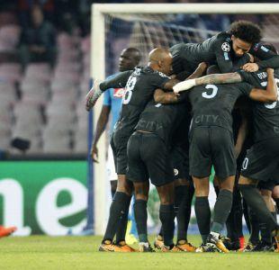 Manchester City sin Bravo gana al Napoli y asegura su paso a octavos en la Champions