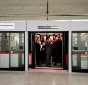[FOTOS] La línea 6 del Metro está inaugurada y lista para recibir a miles de pasajeros