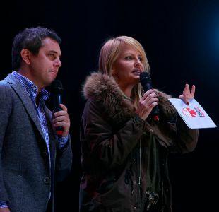 Cecilia Bolocco estuvo en la gira Teletón del año 2015