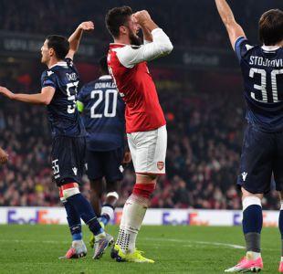 Arsenal sin Alexis Sánchez empata sin goles en casa pero igual avanza en la Europa League