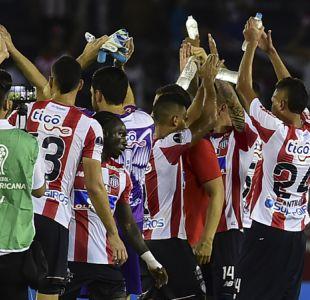 Junior elimina a Sport Recife de Eugenio Mena y logra inédito pase a semis de Sudamericana