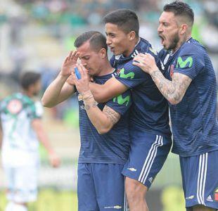 """La """"U"""" vence a Santiago Wanderers y le pone presión a Unión Española"""