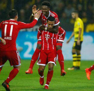 Bayern Munich de Arturo Vidal pasa el rodillo en Dortmund y es único líder de la Bundesliga