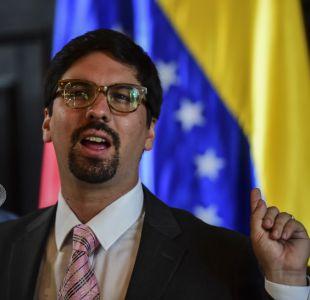 """Freddy Guevara, vicepresidente del Parlamento de Venezuela que solicitó """"protección a Chile"""""""