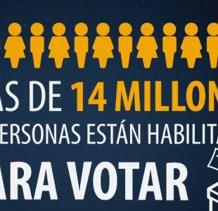 Los chilenos que sí van a votar